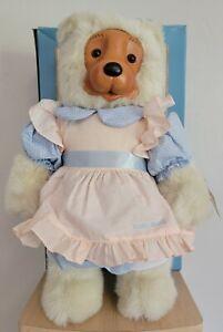 EMILY TEDDY BEAR  By Robert Raikes 17013 Plush Applause Original Tag 1988