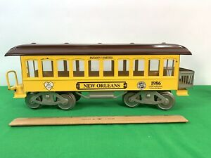 McCoy Panama Limited New Orleans 1986 32nd National Convention Train Passenger