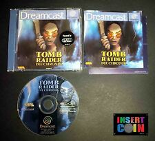 JUEGO SEGA DREAMCAST TOMB RAIDER CHRONICLES (PAL ALEMÁN!!)