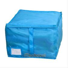 Storage Bag Organizer Zipped Box for Quilt Clothes Blanket Bedding Duvet Pillow