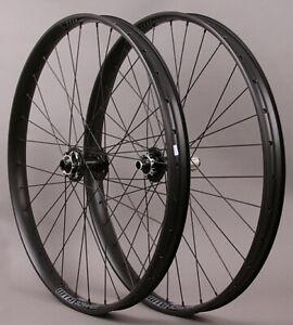 "WTB Scraper i40 26"" MTB Mountain Bike Wheelset 6 bolt disc 15mm Front 142mm Rear"