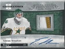 07/08 FLEER HOT PROSPECTS AUTO PATCH TOBIAS STEPHAN