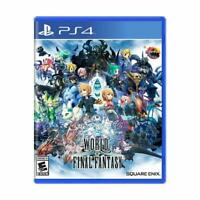World Of Final Fantasy Sony PlayStation 4 [PS4, Square Enix, FF, NTSC] NEW