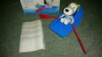 Rare Toy Popy Vintage Rowing Snoopy Barque Mattel 1980 N 107 Full in Box