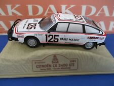 Die cast 1/43 Modellino Auto Citroen CX 2400 GTI Rally Paris Dakar 1981 J. Ickx