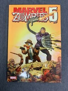 Marvel Zombies 5 Hardcover Graphic Novel (Zombie Horror Comic, Rare!)