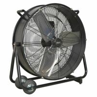 "Sealey HVD24 Industrial High Velocity Drum Fan 24"" 230V"