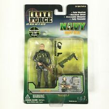 bbi ELITE FORCE USN NAVY SEAL SNIPER Military Action Figure 1:18 Scale NEW MOC