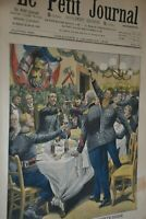 La Sainte Barbe / Le Petit Journal sup illustré N°942/ 6 décembre 1908