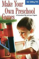 Make Your Own Preschool Games: A Personalized Play and Learn Program-ExLibrary