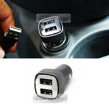 Universal DUAL LED Charger Premium Edge USB Charger Quick Power for All Vehicle