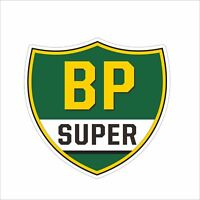 Vintage BP Super Petrol Oil Vinyl Box Fridge Car Window Motorcycle Decal Sticker