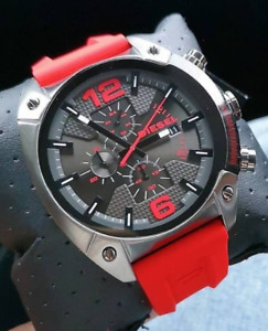 Diesel Overflow Stainless Steel Chronograph Men's Watch DZ4481 SHIPS TODAY
