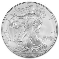American plata Águila 2008 1 onza 999 Fina Moneda Menta ESTADOS UNIDOS NUEVO