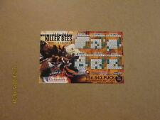 CHL RGV Killer Bees Vintage 2007-2008 Magnet Schedule