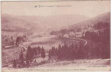 CARTE POSTALE LE THOLY(Vosges) Vallée de CLEURIE-vue de la Terrasse Hotel GERARD