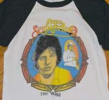 1970's BRUCE SPRINGSTEEN vtg rock concert tour t-shirt (M/L) 70s Raglan Jersey