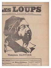 les LOUPS 1911 N° 19 journal d'action d'art EDJI -TRICOT  3éme ANNEE
