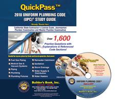 Uniform Plumbing Code (UPC)® 2018 QuickPass™ Study Guide