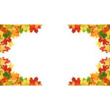 Fall Leaf Window Cling Corners (Set of 4)