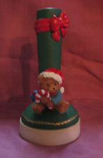 Vintage Giftco Holiday Teddy Bear Cookie Stamp with Butter Cookie Recipe