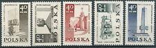 Poland stamps MNH (Mi. 1885-89) War memorials