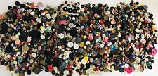 Vintage Buttons 21 Lbs.Mixed Lot