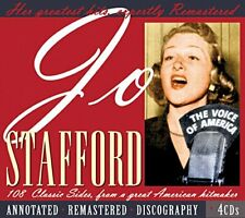 Jo Stafford - 108 Classic Sides From A Great American Hitmaker [CD]