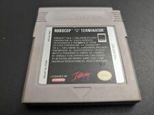 Robocop vs the Terminator Nintendo Game Boy Original NRMT cond cart authentic