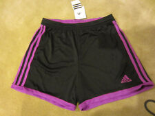 Adidas Performance Women's Tastigo Knit Shorts Black/Purple Size S