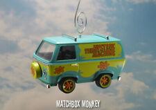 Custom Scooby Doo Mystery Machine Christmas Ornament Van Bus Shaggy Adorno 1/32