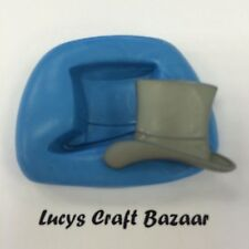 Silicone Mould Wedding Groom Top Hat Cupcake Topper Embellishment Sugarcraft Ice