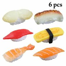 Fake Japanese Foods Simulation Sushi Model Artificial Salmon Decorations Props