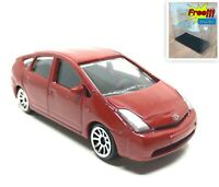 Majorette Toyota Prius Metallic Dark Red 1/59 292D no Package Free Display Box