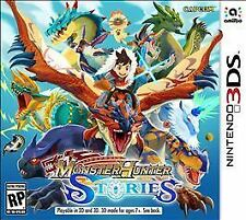 Monster Hunter Stories (Nintendo 3DS, 2017) Brand New Factoty Sealed