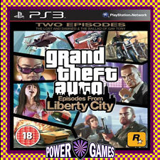 Grand Theft Auto IV: 4 Episodes from Liberty City PS3 (Sony PlayStation 3) BN