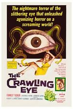 "THE CRAWLING EYE SCI-FI MOVIE POSTER 12"" X 18"""