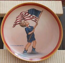 """Knowles 1987 Collectors """"The 4th of July"""" Plate #721B Limited Edition Mj-03"""
