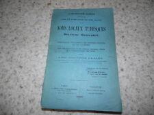 1885.Noms locaux tudesques.Dictionnaire allemand.Fabre d'Envieu