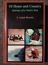 Of Home and Country by Amjad Hussain 1998 HC 1st Edition Signed