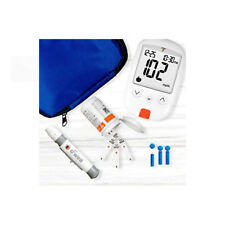 Self Testing Blood Sugar Kit Diabetic Health Aid Tester Glucose Monitor Set 100