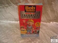 Bob The Builder: Bob's Favorite Adventures VHS NEW