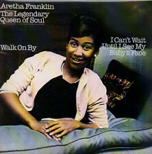★☆★ CD SINGLE Aretha FRANKLIN Walk on by - I can't wait until I see my baby  ★☆★