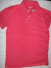 "NWT Men's S Arizona Jean Co. Brand ""Paradise Pink"" Polo Shirt"