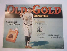 "1990 BABE RUTH SIGN - REPRODUCTION - 16"" X 12"" - EXCELLENT CONDITION - TUB Q"
