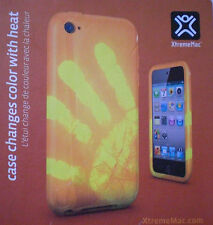 XtremeMac TuffWrap Shift Color Changing Case for iPod Touch 4 in Orange - New