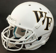 WAKE FOREST DEMON DEACONS Schutt AiR XP Authentic GAMEDAY Football Helmet WHITE