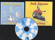 JACK JOHNSON And Friends 2005 CD Curious George Digipack with Book
