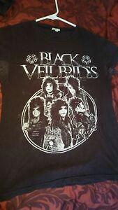 Black Veil Brides t shirt vintage womens size Small