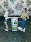 Lot 2 R Demars for Ganz Bottoms Up Blonde & Shirtless Male Soda Beer Can Holders